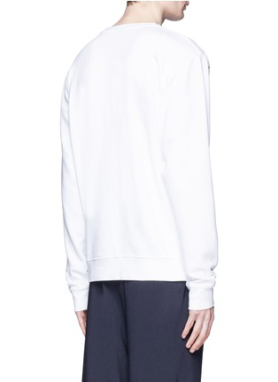 Back View - Click To Enlarge - Marcelo Burlon - 'Aurora' print sweatshirt