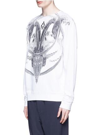 Front View - Click To Enlarge - Marcelo Burlon - 'Aurora' print sweatshirt