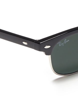 Detail View - Click To Enlarge - Ray-Ban - 'Clubmaster Junior' browline sunglasses