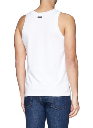 Back View - Click To Enlarge - Dolce & Gabbana - 'Day by Day' tank undershirt 2-pack set