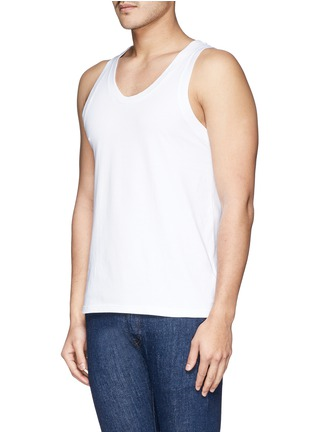 Front View - Click To Enlarge - Dolce & Gabbana - 'Day by Day' tank undershirt 2-pack set