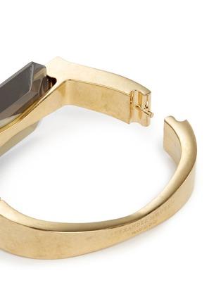 Detail View - Click To Enlarge - Alexander McQueen - Bridge glass stone bracelet
