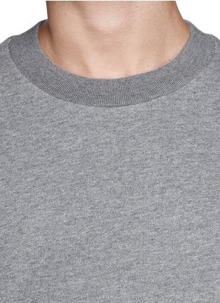 Detail View - Click To Enlarge - 3.1 Phillip Lim - Shirt tail sweatshirt