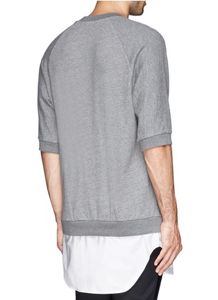 Back View - Click To Enlarge - 3.1 Phillip Lim - Shirt tail sweatshirt