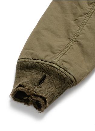 - R13 - 'Destroyed' cotton flight jacket