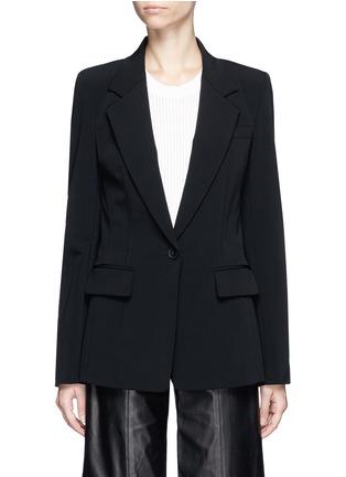 Main View - Click To Enlarge - Dkny - Crepe jacket