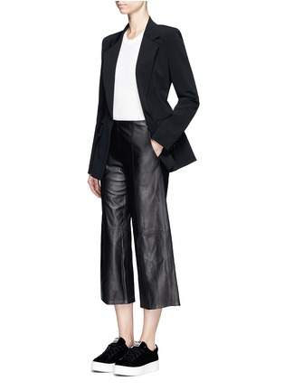 Figure View - Click To Enlarge - Dkny - Crepe jacket