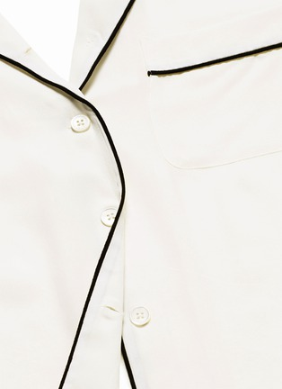 Detail View - Click To Enlarge - Equipment - 'Lillian' silk pyjama set