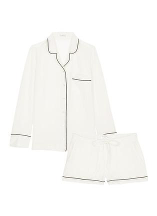 Main View - Click To Enlarge - Equipment - 'Lillian' silk pyjama set