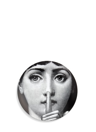 Main View - Click To Enlarge - FORNASETTI - Themes and Variations wall plate #334