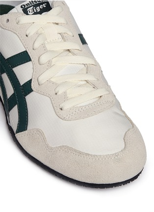 Detail View - Click To Enlarge - Onitsuka Tiger - 'Serrano' stripe ripstop sneakers