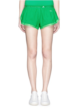 Main View - Click To Enlarge - Adidas By Stella Mccartney - 'Adizero' ClimaLite run shorts