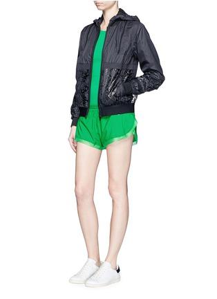 Figure View - Click To Enlarge - Adidas By Stella Mccartney - 'Adizero' ClimaLite run shorts