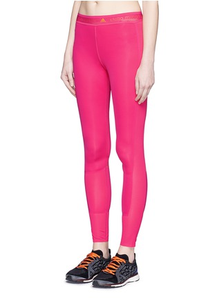 Front View - Click To Enlarge - adidas by Stella McCartney - 'Adizero' Climacool run tights