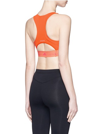 Back View - Click To Enlarge - Adidas By Stella Mccartney - ClimaChill cropped top