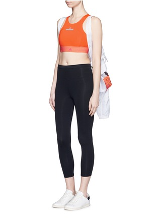 Figure View - Click To Enlarge - Adidas By Stella Mccartney - ClimaChill cropped top