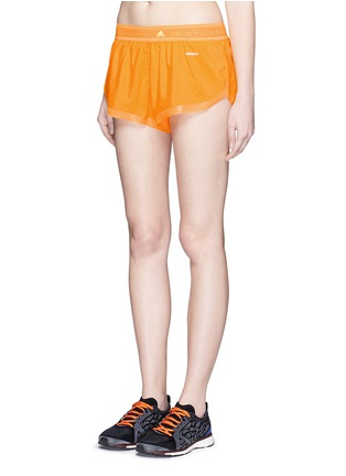 Front View - Click To Enlarge - ADIDAS BY STELLA MCCARTNEY - Adizero run shorts