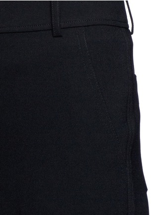 Detail View - Click To Enlarge - T By Alexander Wang - Wide leg stretch crepe pants