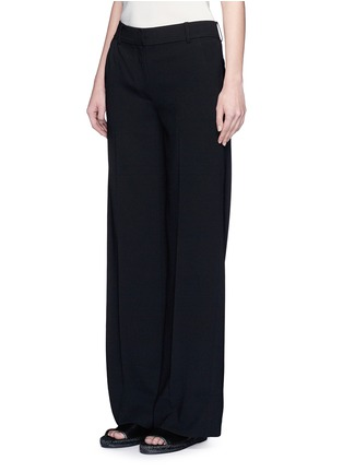Front View - Click To Enlarge - T By Alexander Wang - Wide leg stretch crepe pants