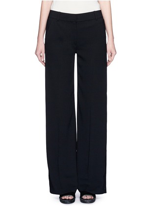 Main View - Click To Enlarge - T By Alexander Wang - Wide leg stretch crepe pants