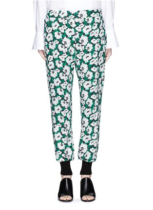 Main View - Click To Enlarge - STELLA MCCARTNEY - Margarita flower print crepe pants