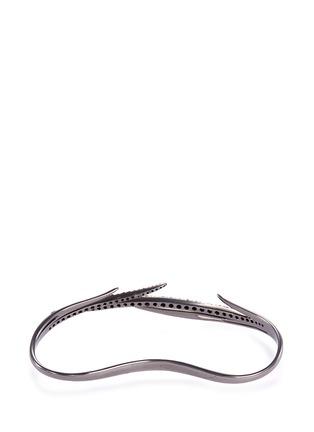 Figure View - Click To Enlarge - Cristinaortiz - Diamond 9k white gold cuff