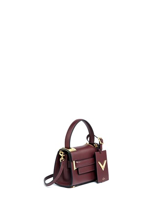 Figure View - Click To Enlarge - Valentino - 'My Rockstud' mini top handle leather bag