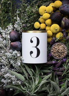 L'OBJET NO. 3 SCENTED CANDLE 350G