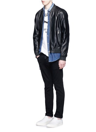 Figure View - Click To Enlarge - Dsquared2 - 'Cool Guy' stretch denim jeans