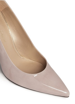 Detail View - Click To Enlarge - Stuart Weitzman - 'Heist' patent leather pumps
