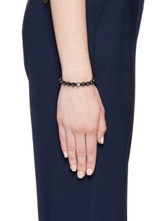 Shamballa Jewels 'Shamballa' raw diamond 18k gold bracelet
