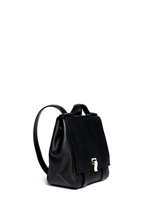 Figure View - Click To Enlarge - Proenza Schouler - 'PS Courier' small leather backpack