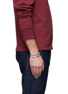 Tateossian 'Soho' copper double wrap bracelet