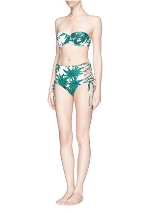Figure View - Click To Enlarge - Mara Hoffman - 'Harvest' underwired bandeau bikini top