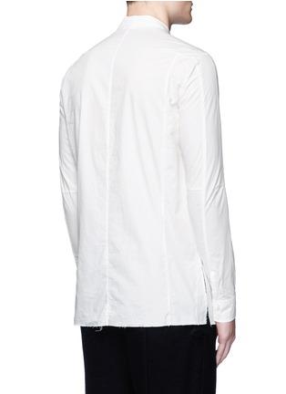 Back View - Click To Enlarge - The Viridi-anne - Asymmetric cuff thumbhole shirt