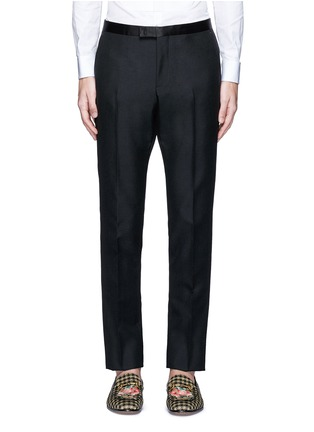 Main View - Click To Enlarge - Gucci - Wool-Mohair evening pants