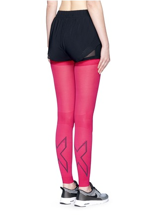 Back View - Click To Enlarge - 2Xu - 'Compression Flex' leg sleeves