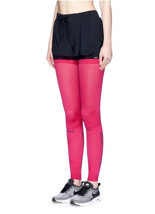 Front View - Click To Enlarge - 2Xu - 'Compression Flex' leg sleeves