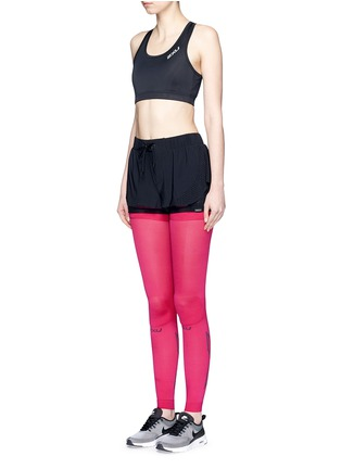 Figure View - Click To Enlarge - 2Xu - 'Compression Flex' leg sleeves