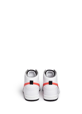 Back View - Click To Enlarge - Nike - x UNDFTD 'Dunk Lux' leather high top sneakers