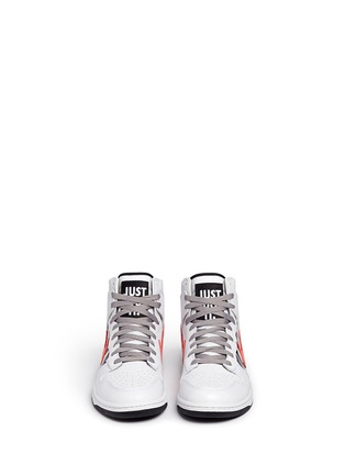 Front View - Click To Enlarge - Nike - x UNDFTD 'Dunk Lux' leather high top sneakers