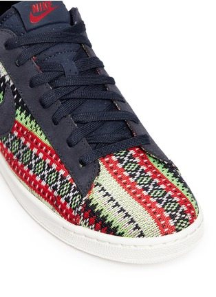 Detail View - Click To Enlarge - NIKE - 'Tennis Classic Ultra QS' jacquard sneakers