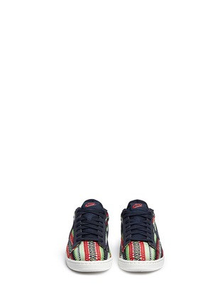 Front View - Click To Enlarge - NIKE - 'Tennis Classic Ultra QS' jacquard sneakers