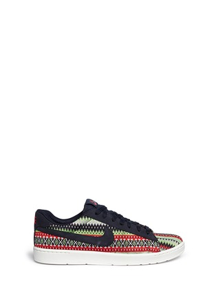 Main View - Click To Enlarge - NIKE - 'Tennis Classic Ultra QS' jacquard sneakers