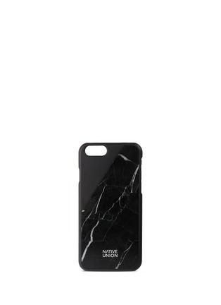 Main View - Click To Enlarge - Native Union - CLIC marble iPhone 6 Plus case