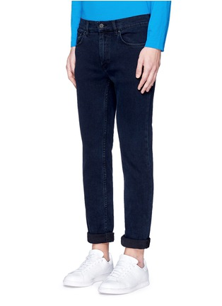 Front View - Click To Enlarge - ACNE STUDIOS - 'Ace' stretch skinny jeans