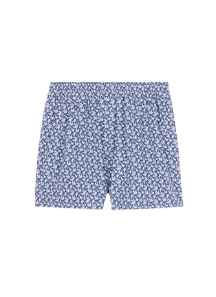 Main View - Click To Enlarge - Sunspel - Seasonal leaf print boxer shorts