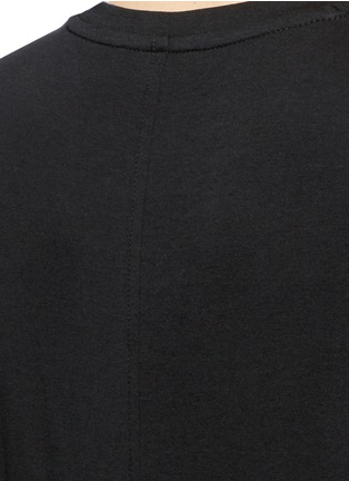 Detail View - Click To Enlarge - The Row - 'Wesler' back seam jersey T-shirt