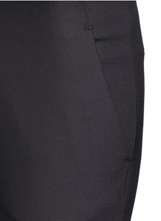 Detail View - Click To Enlarge - The Row - 'Tips' techno cotton-blend slim straight pants