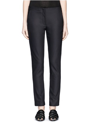 Main View - Click To Enlarge - The Row - 'Tips' techno cotton-blend slim straight pants